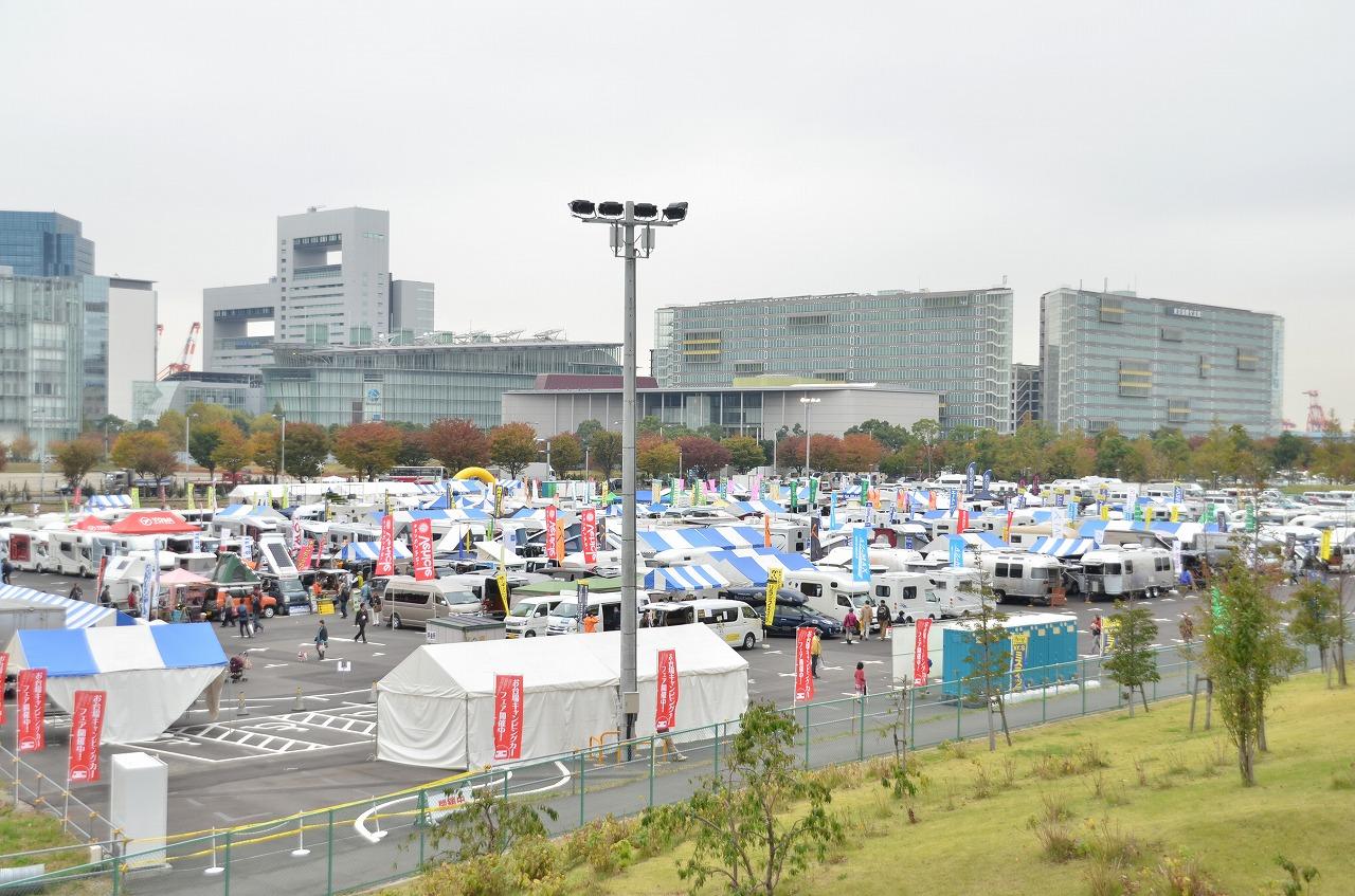首都圏最大級の屋外キャンピングカー展示イベント「お台場キャンピングカーフェア2018」まもなく開催