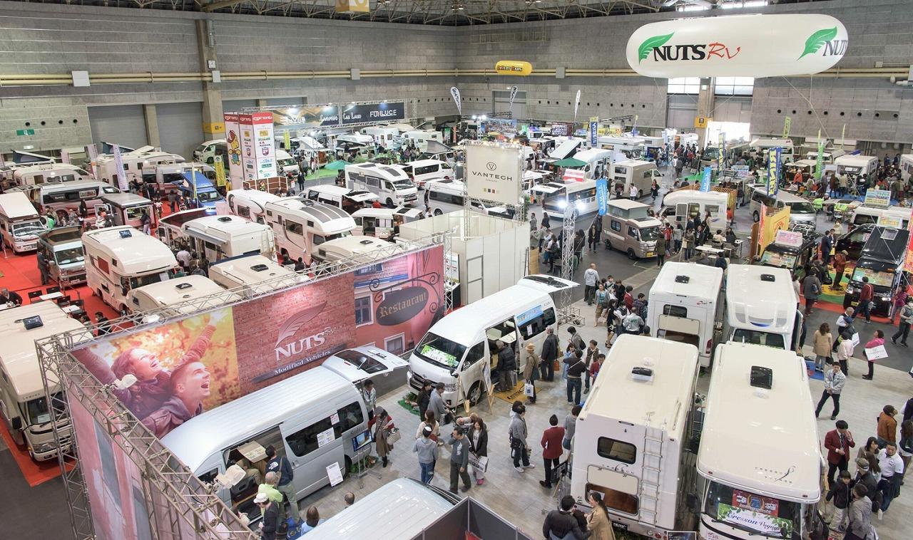各地のキャンピングカーショーが始動、3月は名古屋、仙台、大阪で開催