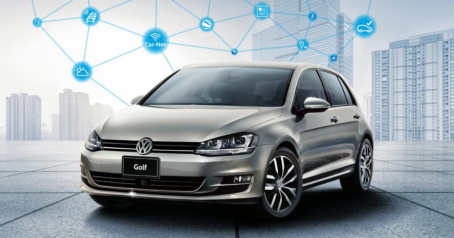 フォルクスワーゲン、〝つながるクルマ〟を実現する特別仕様車の『Golf Connect』と『Golf Variant Connect』販売開始