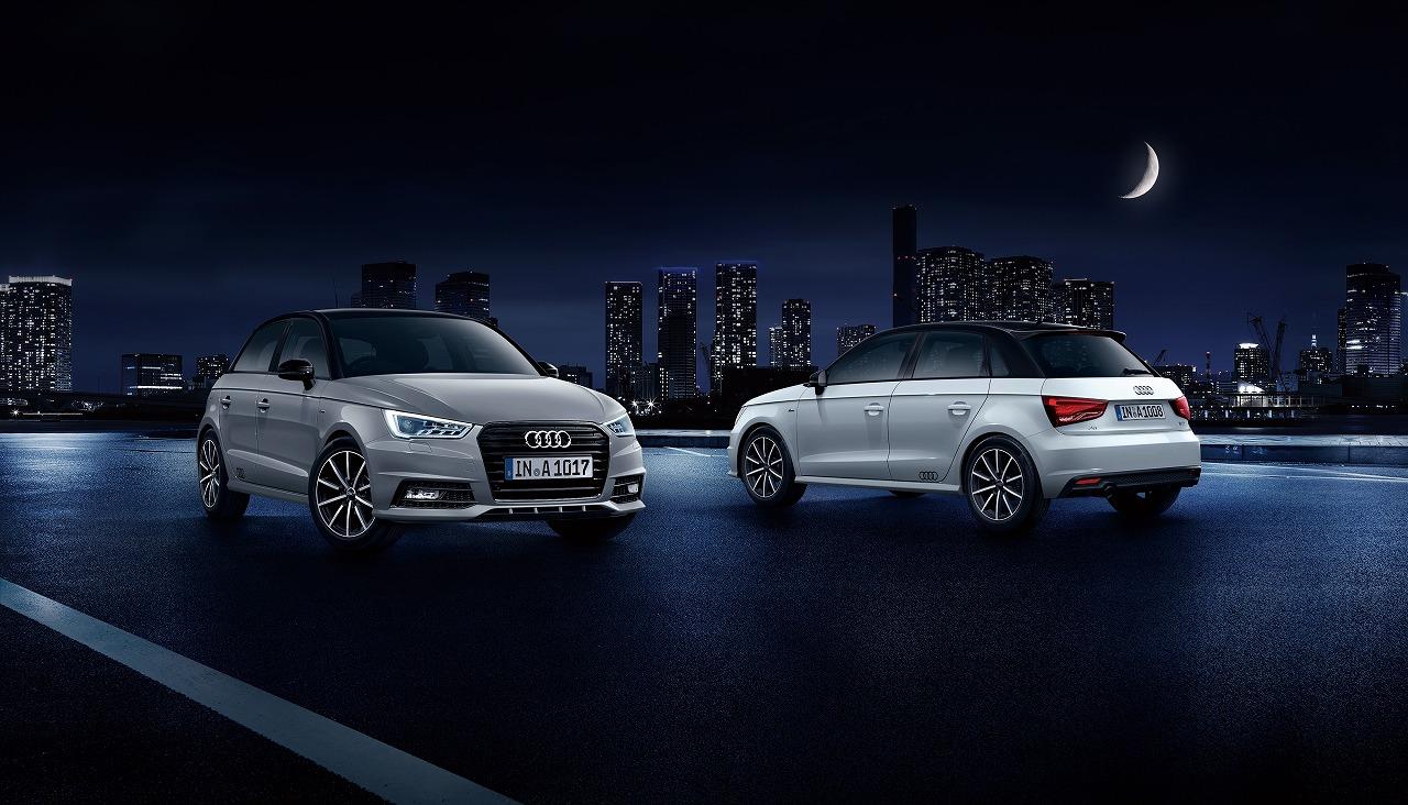 375台の限定モデル「Audi A1 Sportback midnight limited」9月4日から発売開始