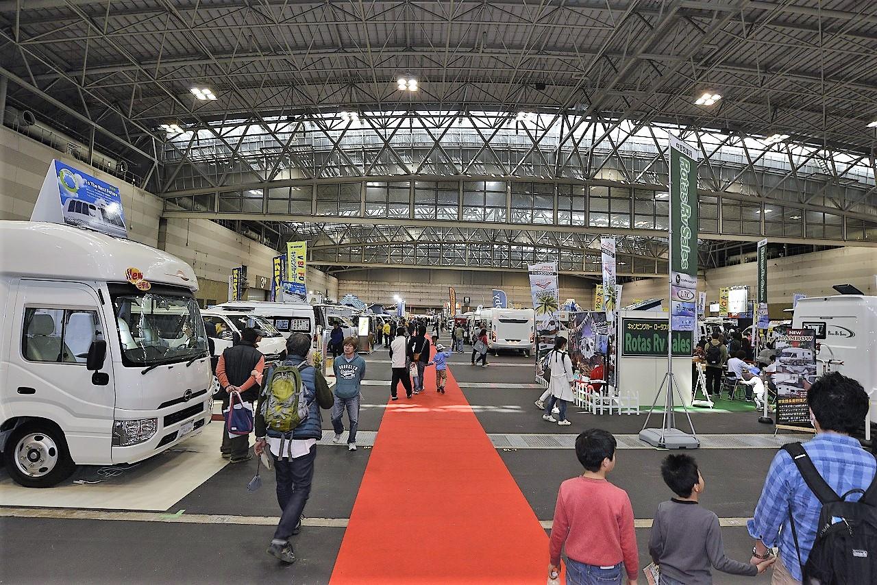 名古屋キャンピングカーフェア2018Springを開催