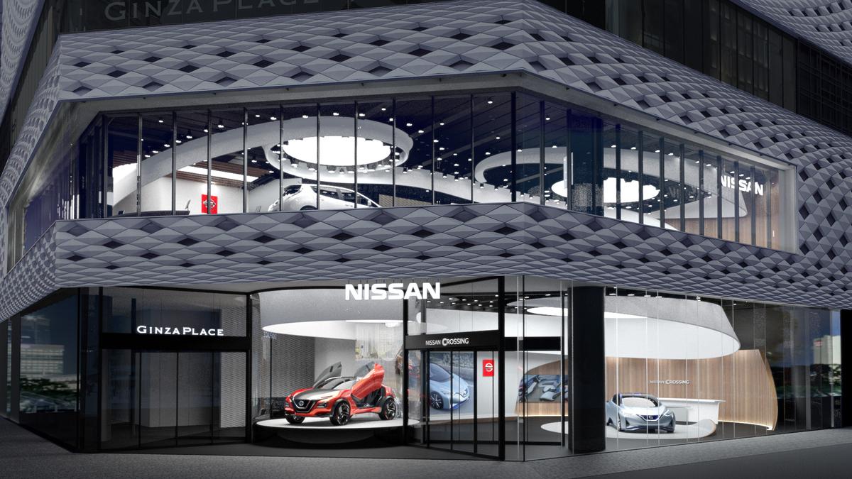 日産自動車、 銀座に新たなブランド発信拠点「ニッサン クロッシング」をオープン