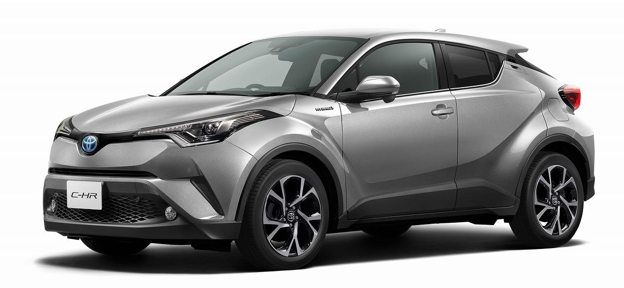 トヨタ、新型車「C-HR」の日本仕様の概要を初公開