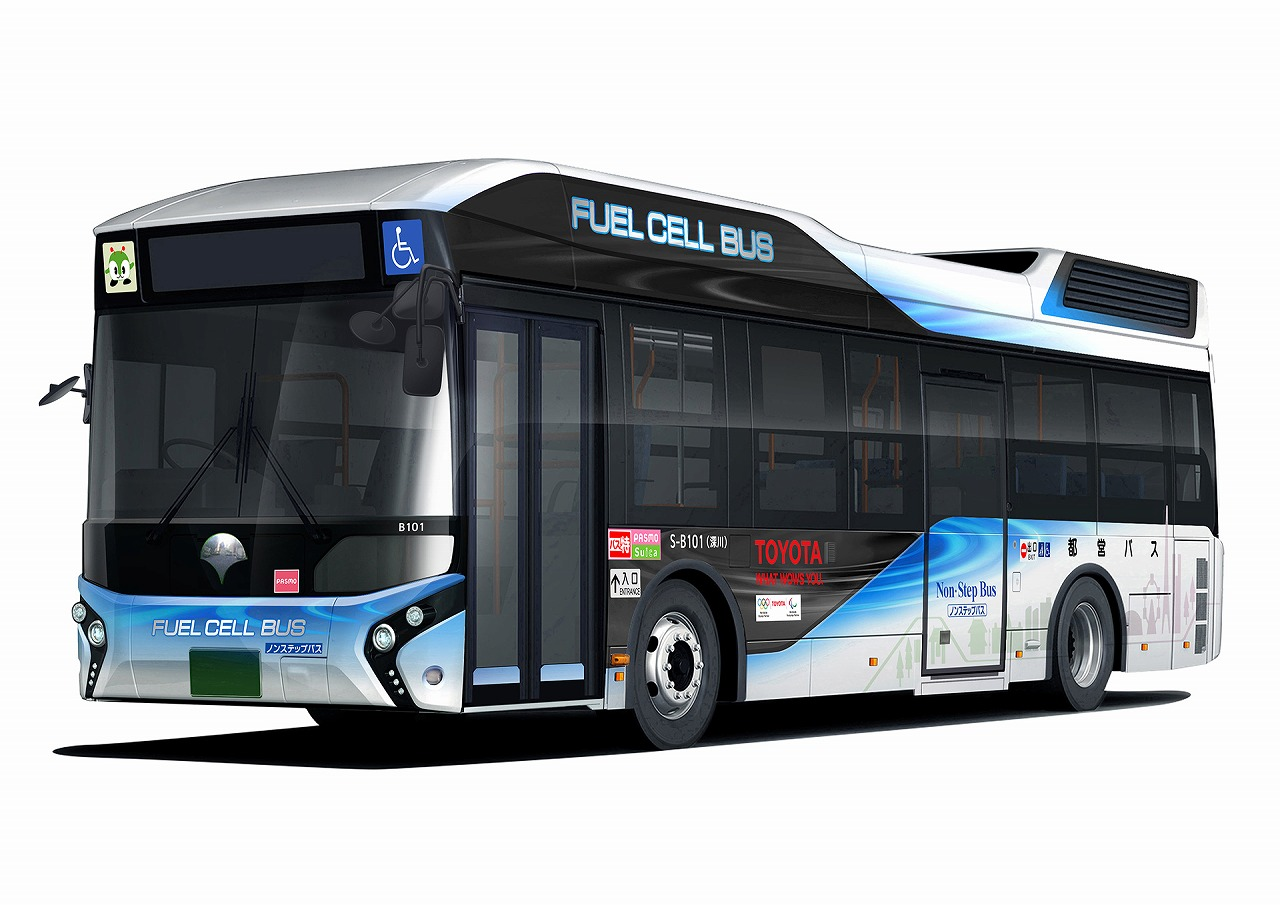 トヨタ、トヨタブランドの燃料電池バスを東京都へ販売