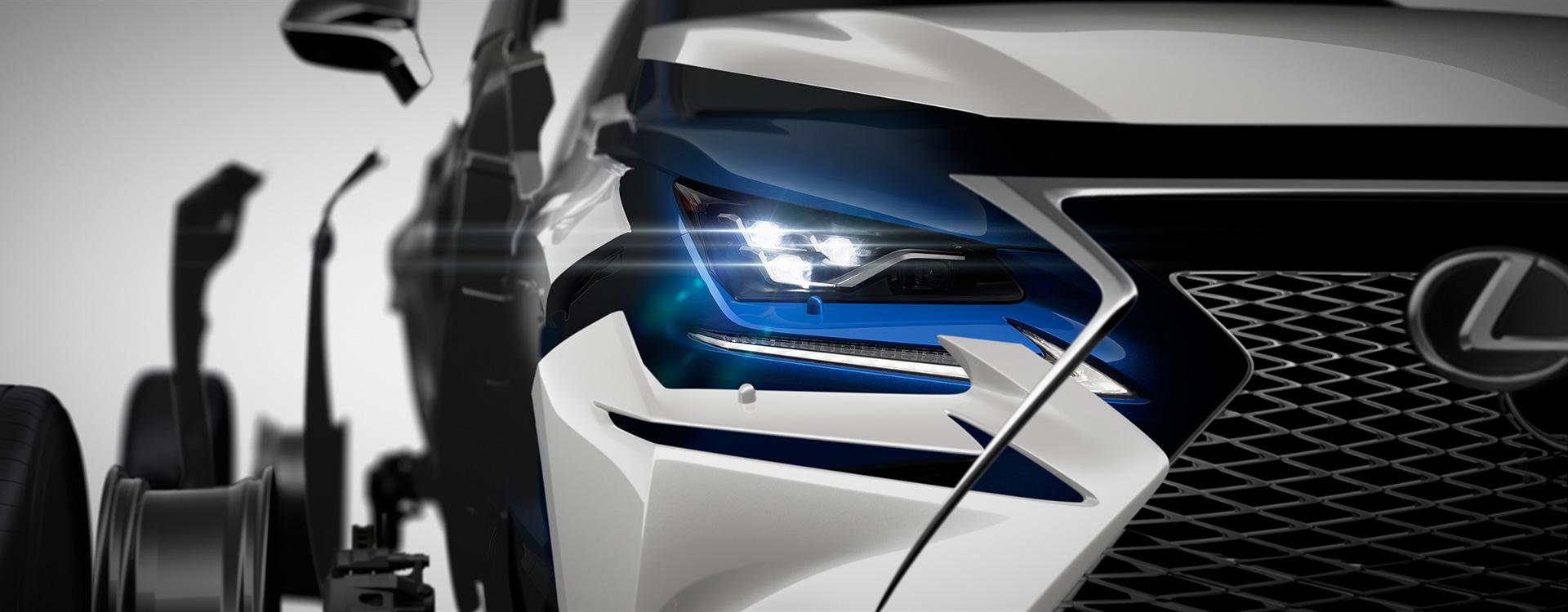レクサス、上海モーターショーに新型NXを出展