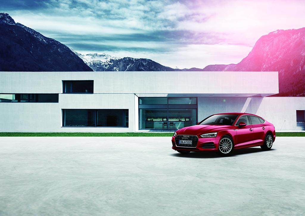 アウディ、エコカー減税に対応するA5 SportbackのFWDモデルを発売