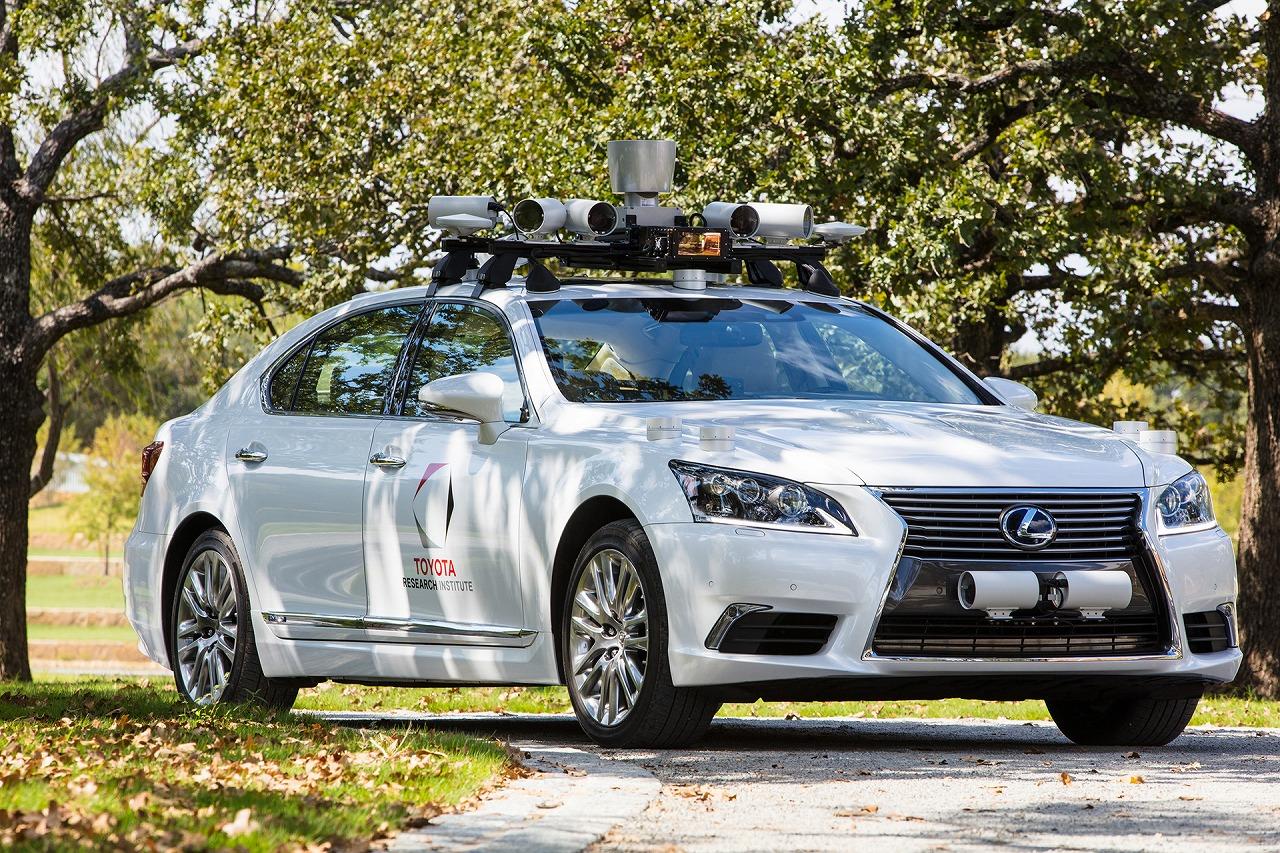 トヨタ自動車、Toyota Research Institute, Inc.における自動運転技術等に関する開発の進捗状況を公表