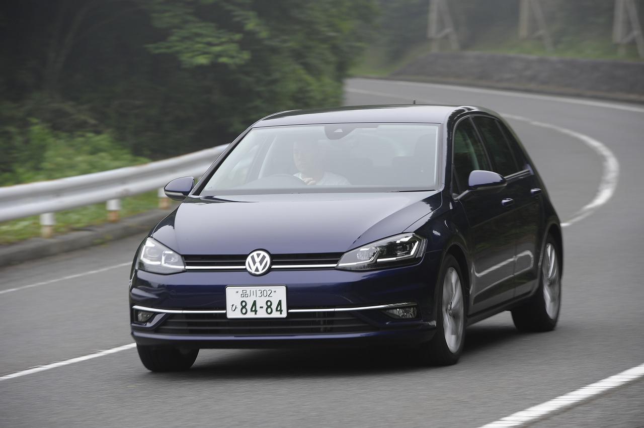 走る、曲がる、止まるという基本要素を高次元で満たすコンパクトカー VW・ゴルフ試乗