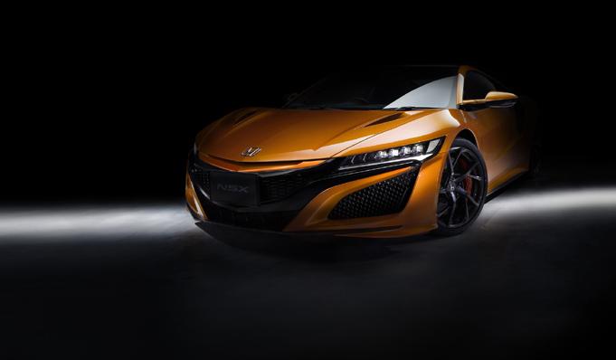 ホンダ、NSX改良モデルをホームページで先行公開