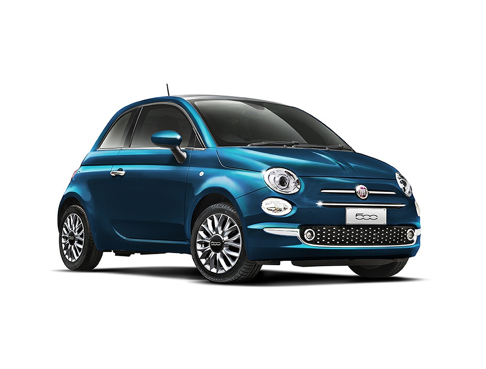 フィアット、鮮やかな青が印象的な限定車「500 マーレブル」を発売