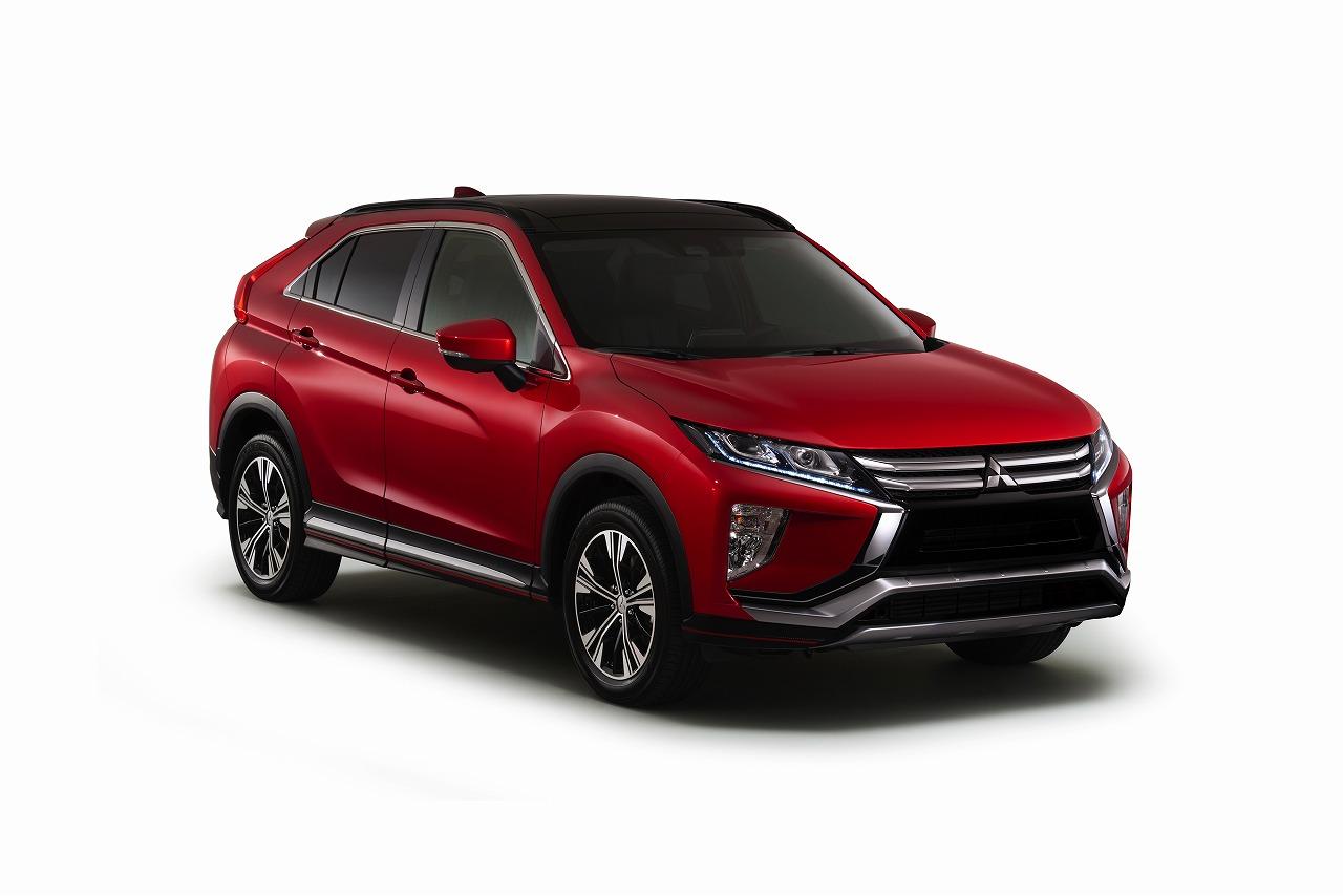 三菱自動車、新型コンパクトSUV「エクリプス クロス」の欧州仕様車を国内初披露