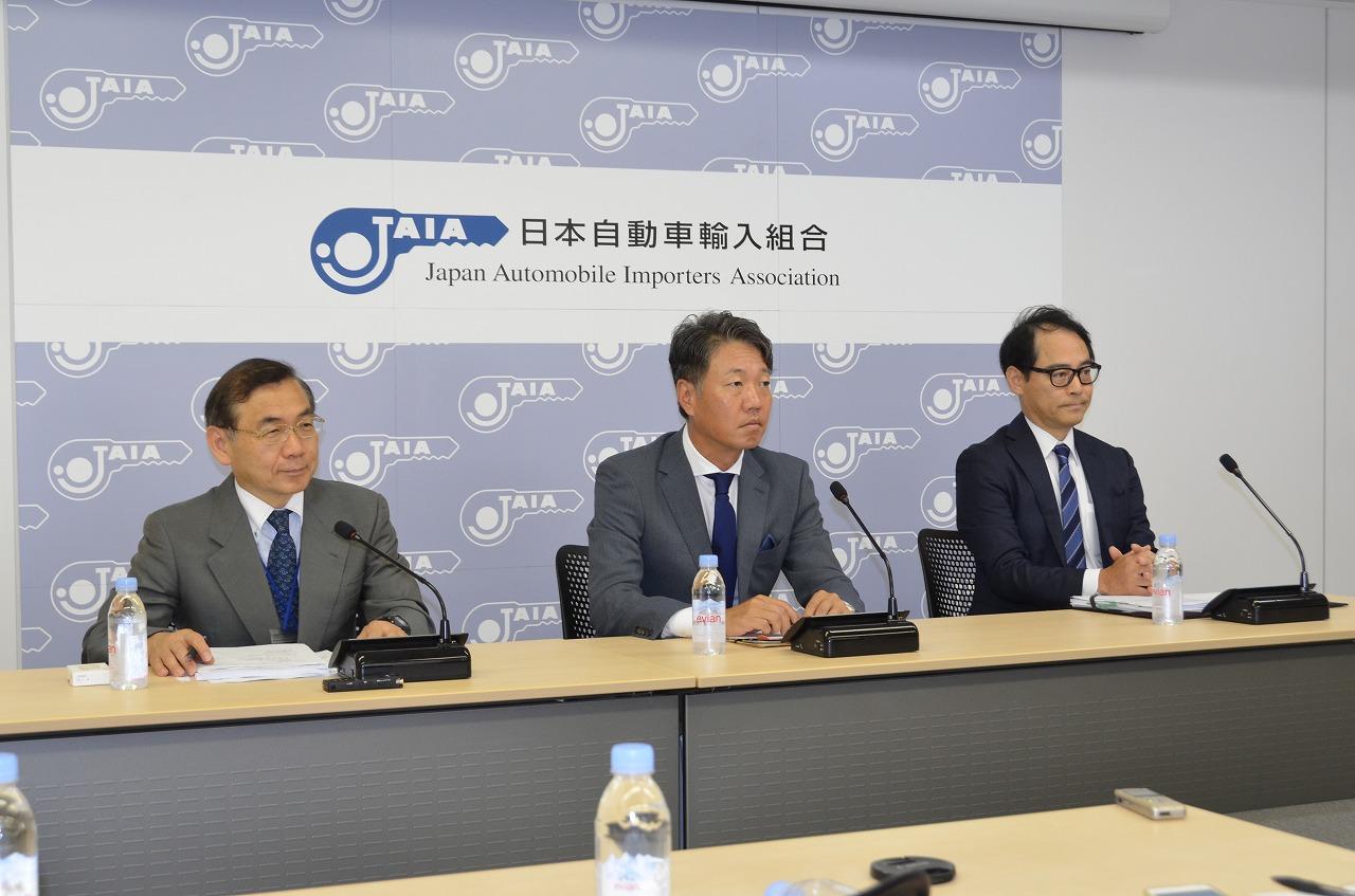 JAIA理事長会見、下期輸入車市場は堅調に推移