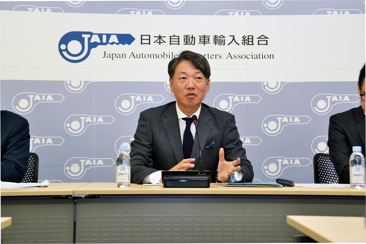 JAIA理事長定例会見、新車販売前年超えに期待