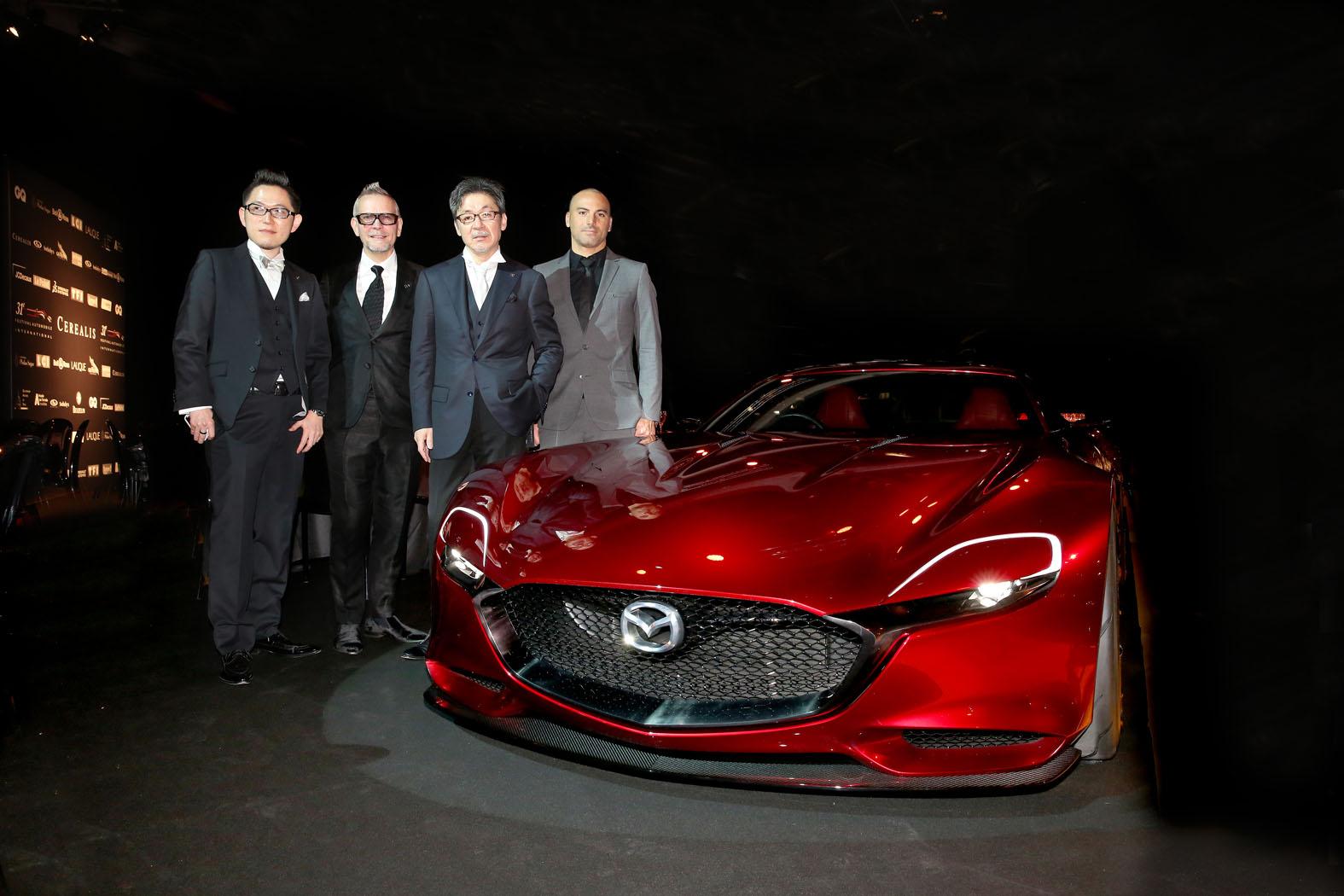 「Mazda RX-VISION」がフランスで最も美しいコンセプトカーに選出