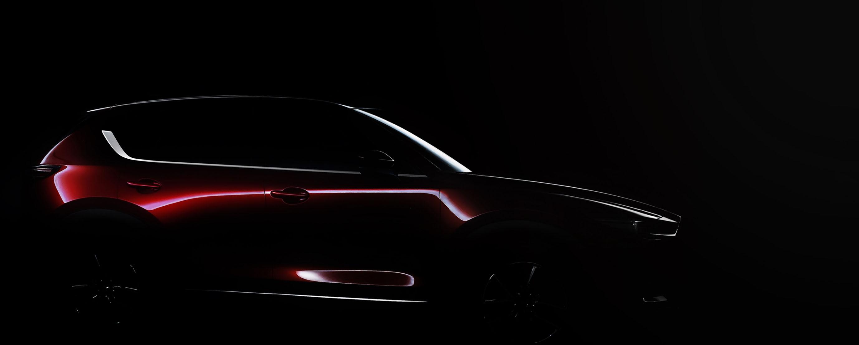 マツダ、ロサンゼルス自動車ショーにて新型「CX-5」を世界初公開