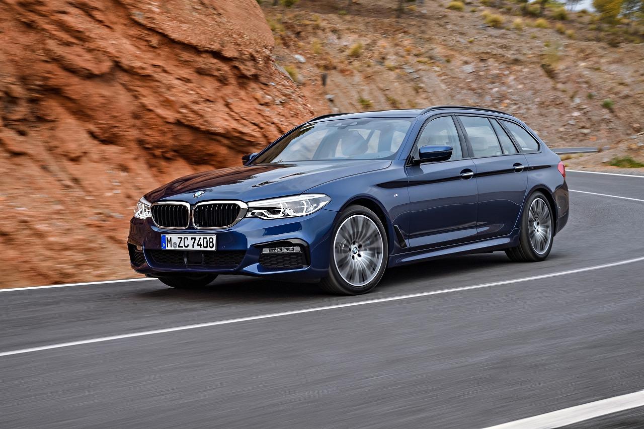 BMW、新型5シリーズ ツーリングを発売