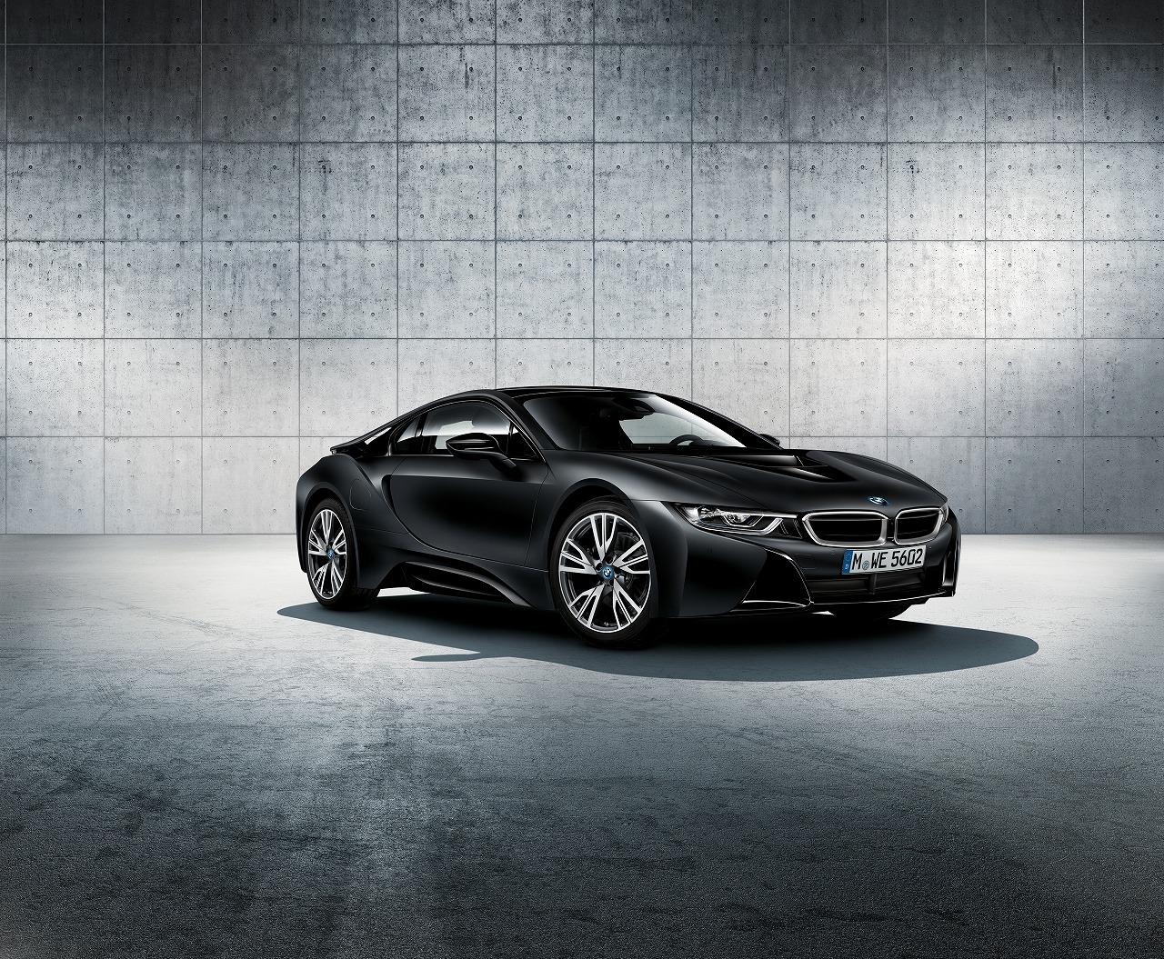BMW「i8」の限定モデル「Protonic Frozen Black」を限定発売