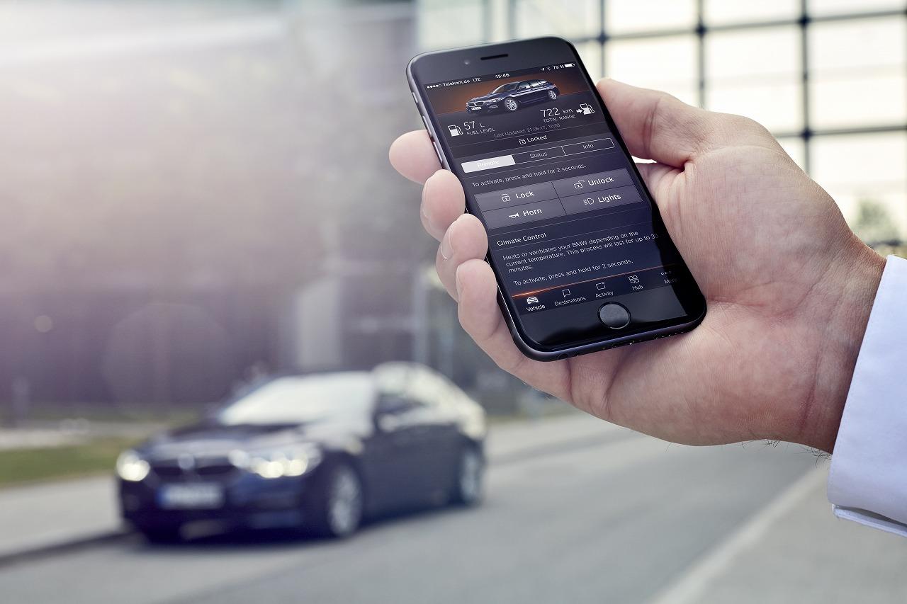 総合テレマティクス・サービス「BMWコネクテッド・ドライブ」に新機能追加
