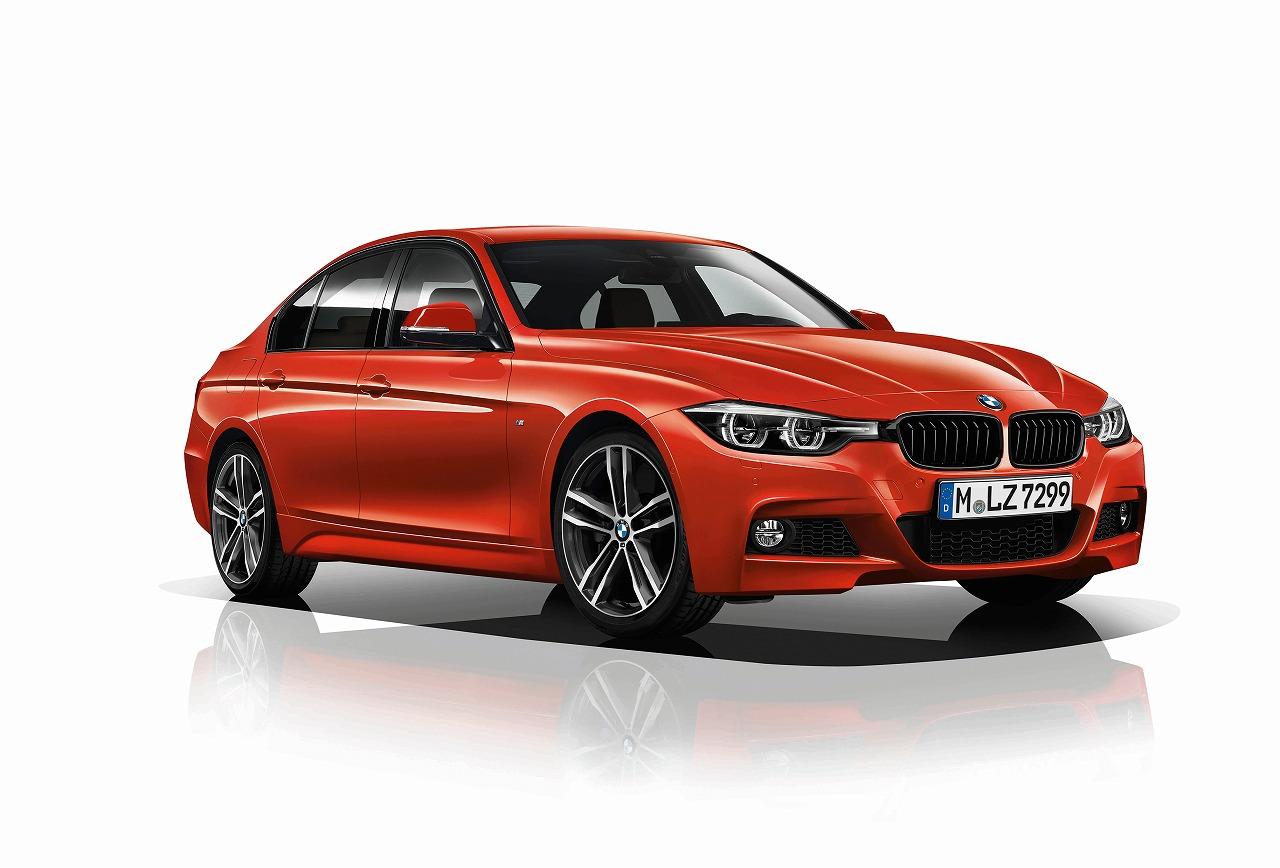 BMW、3シリーズのスポーティなスタイルと走りの魅力を磨いた限定モデルを発売
