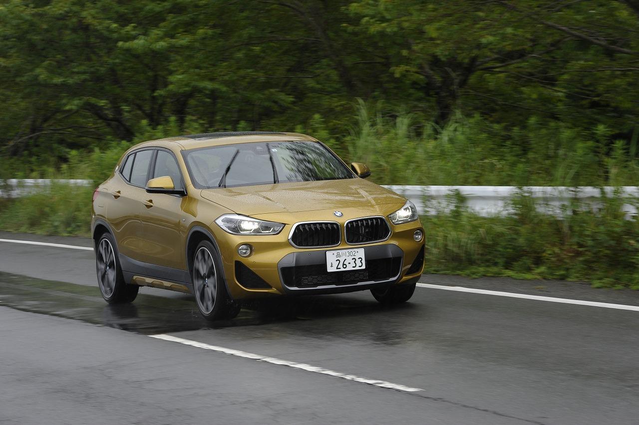 BMW・X2「xDrive20i MスポーツX」試乗