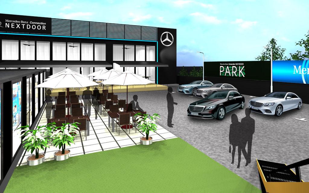 メルセデス・ベンツ、東京・六本木のNEXTDOORコラボレーションスペース「Mercedes-Benz Connection NEXTDOOR PARK」をオープン