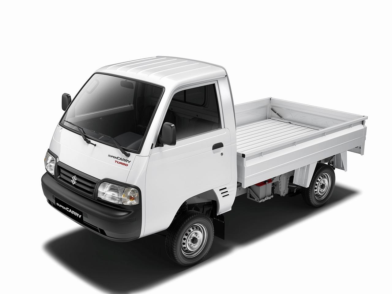 スズキ、インドの小型商用車セグメントに初参入 小型トラック「スーパーキャリイ」を発売