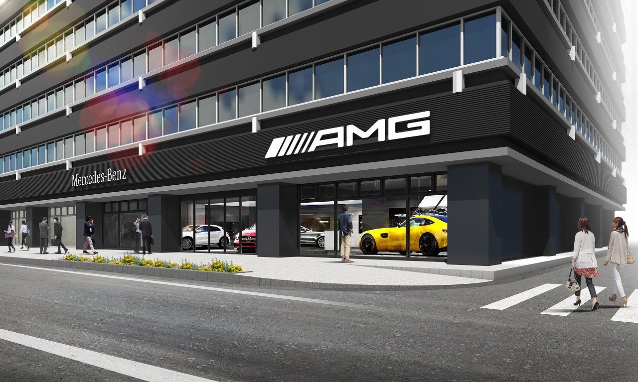 ヤナセ、AMGパフォーマンスセンター京橋を新設