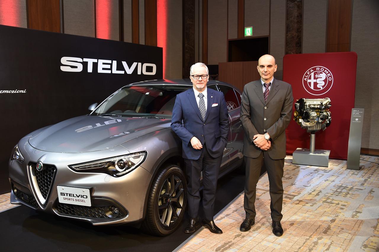 アルファロメオ、新型ディーゼルエンジンをステルヴィオ/ジュリアに搭載