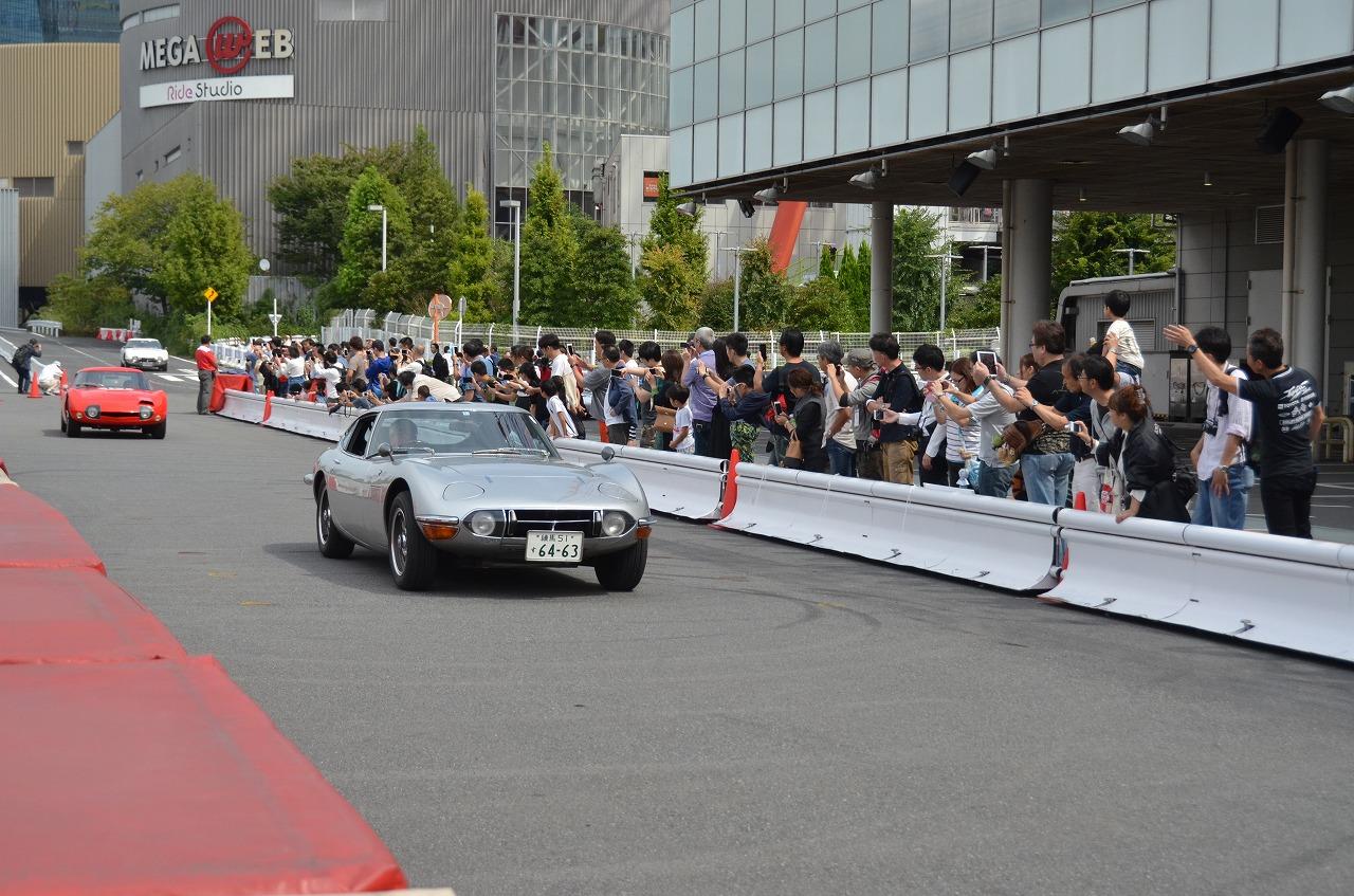 トヨタ、「トヨタ2000GT生誕50周年祭」開催、19台がメガウェブに集結‼