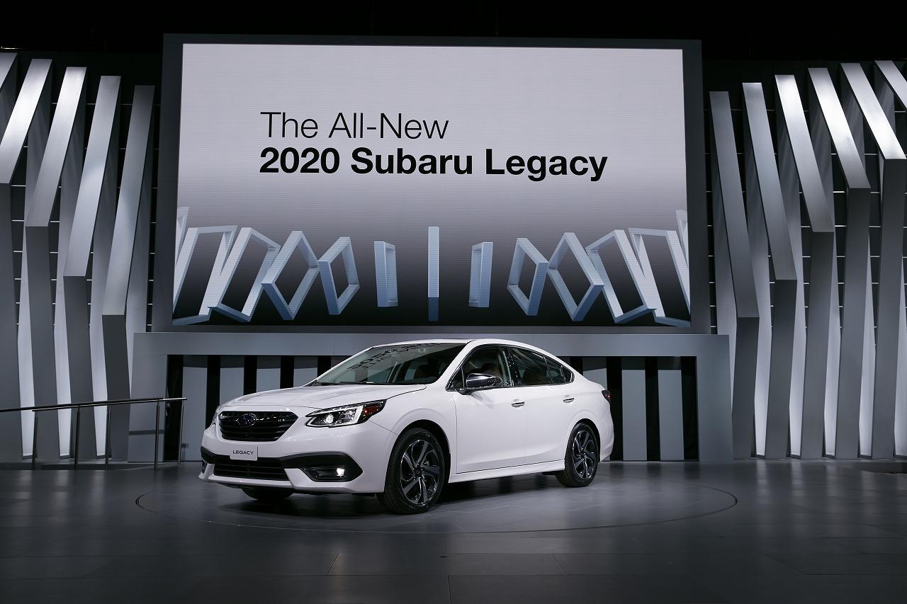 SUBARU、シカゴオートショーで新型レガシィを世界初公開