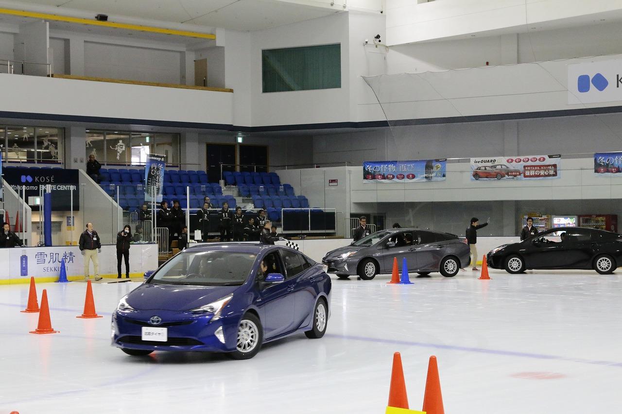 神奈川ハマタイヤ、グループ販社向けにスタッドレスタイヤ体感試乗会開催