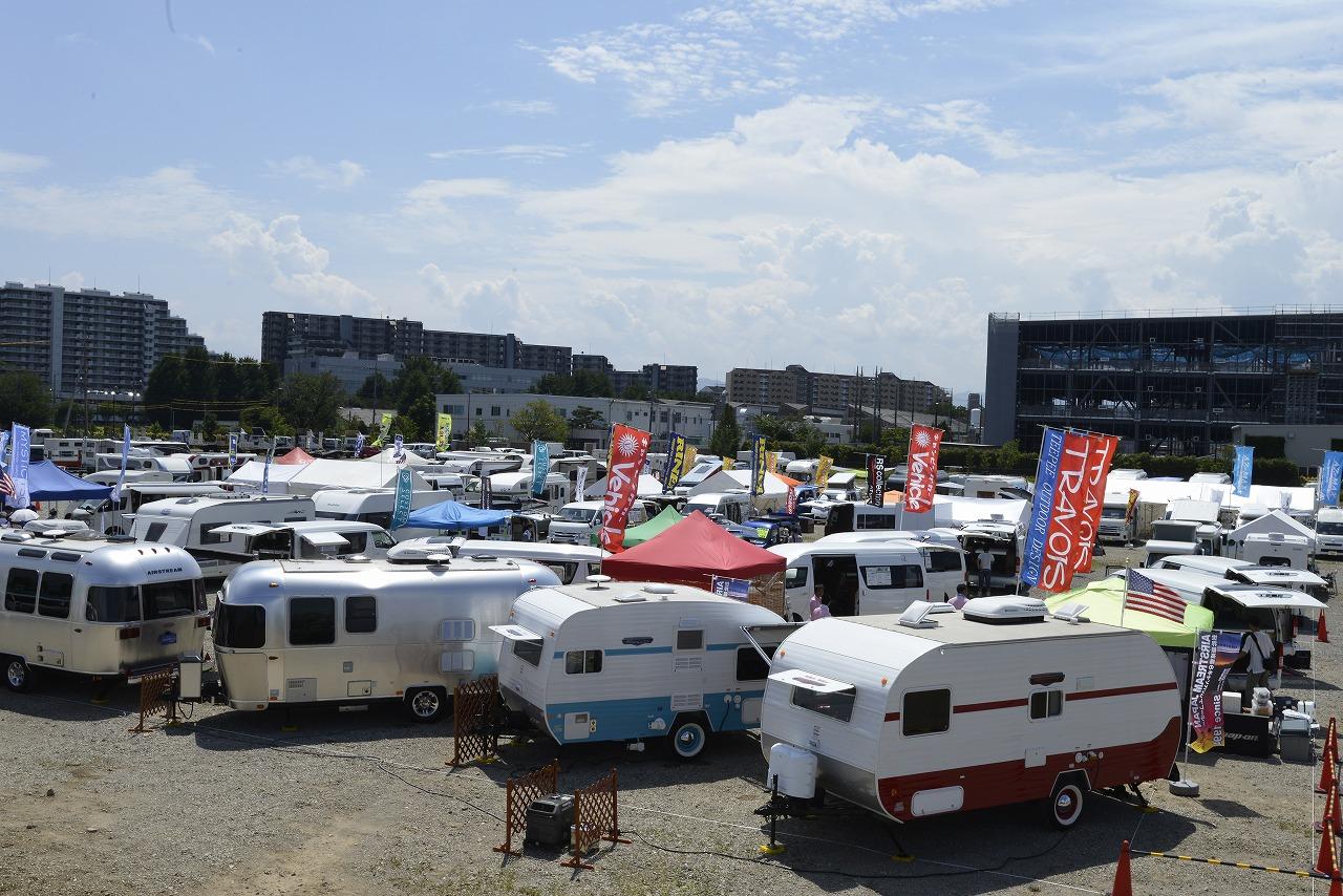 関東キャンピングカーフェスタ2017サマー開催,キャンピングカーユーザーの輪を広げる車中泊大会も同時開催