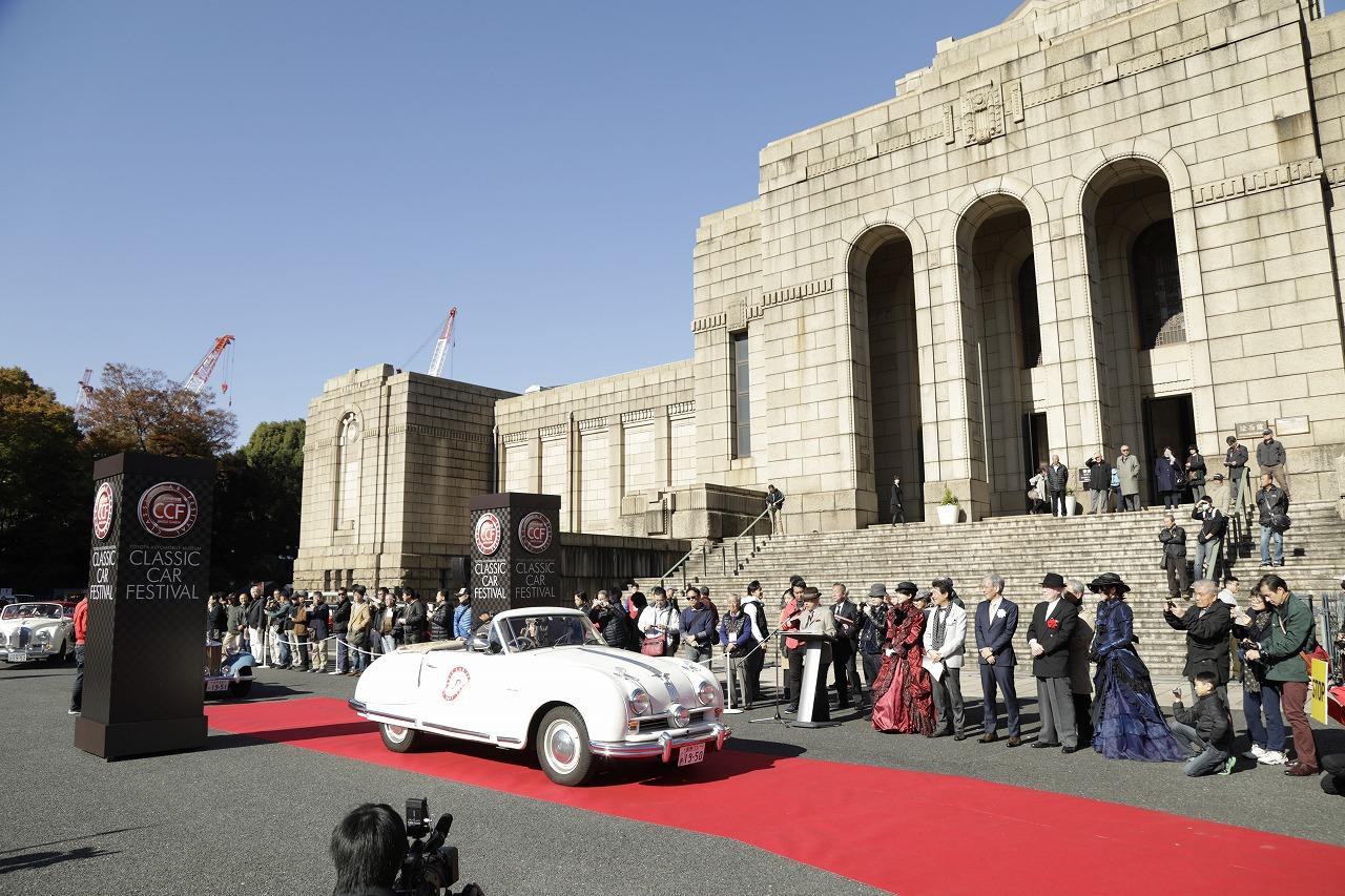 トヨタ博物館「クラシックカーフェスティバルin神宮外苑」開催、多様な動力源を持つ名車が集結